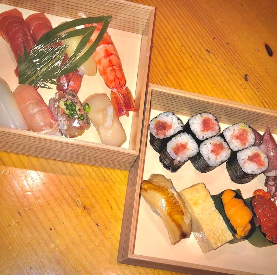 蒲田寿し徳の持ち帰り寿司